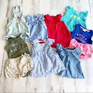 Bundle of Baby Girl Spring/Summer Clothing